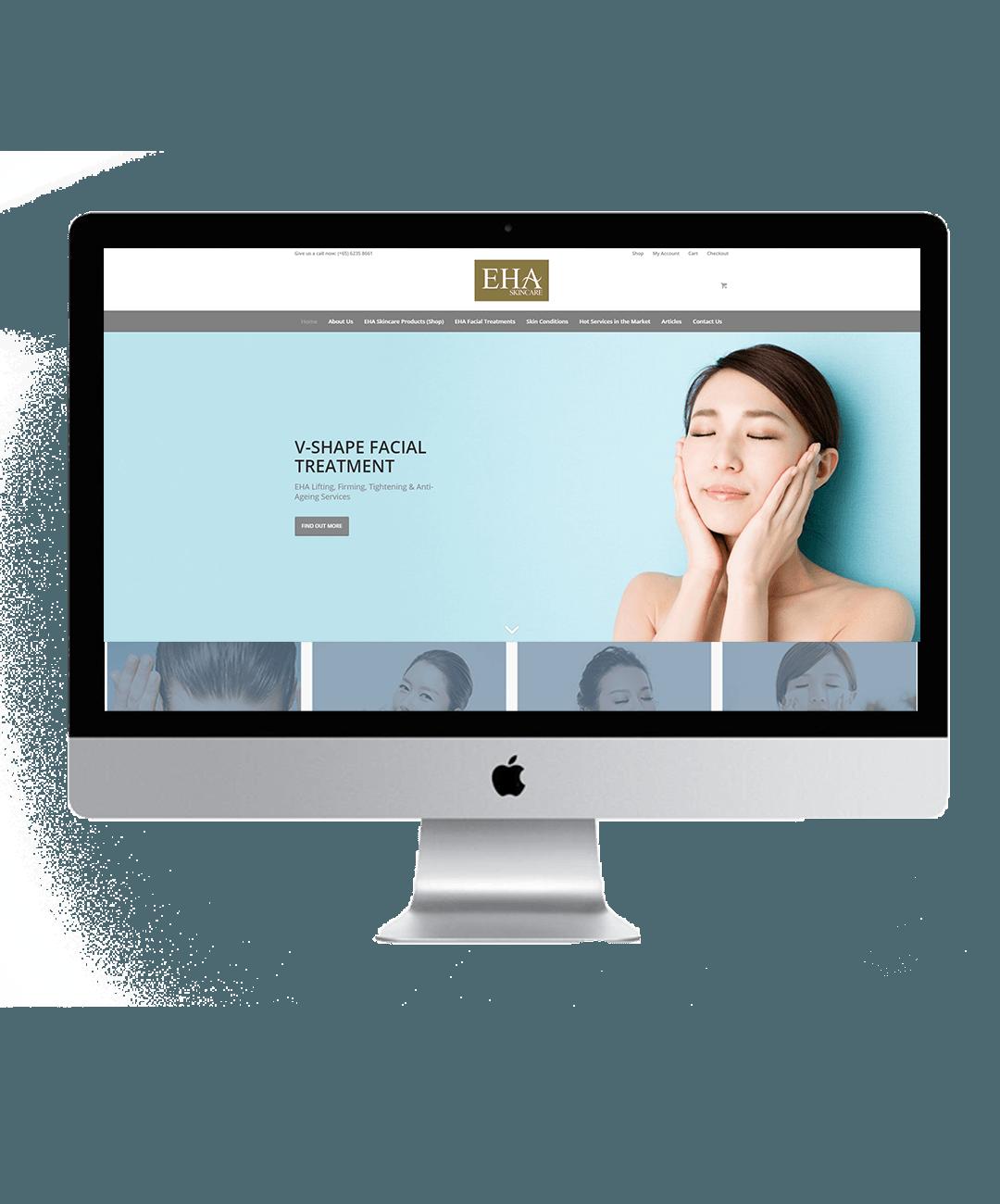 EHA Skincare showcase 1