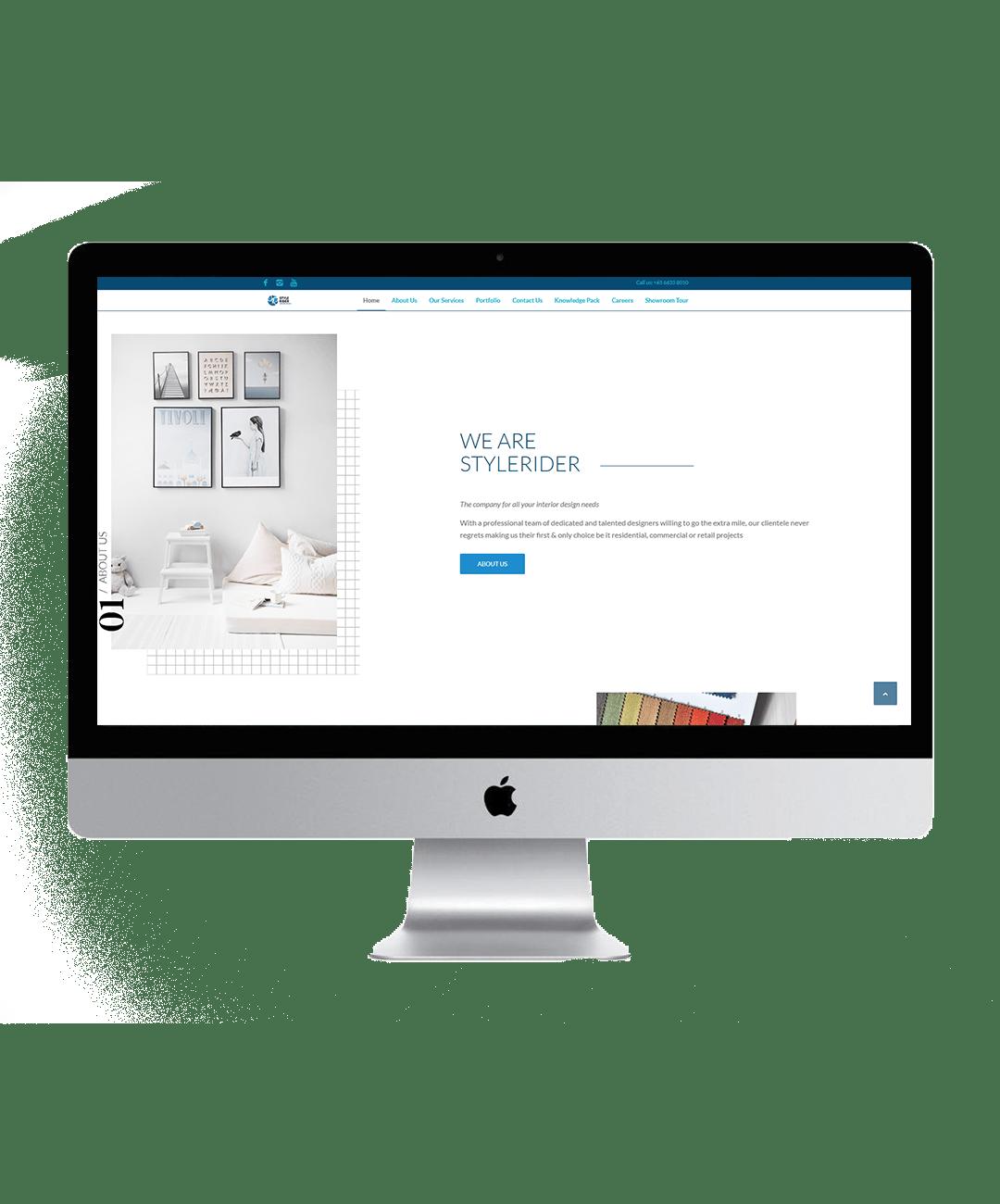 stylerider website showcase 1