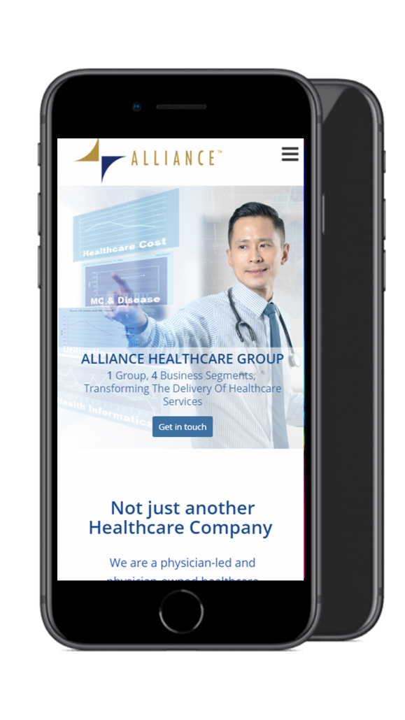 Alliance healthcare mobile screenshot 1