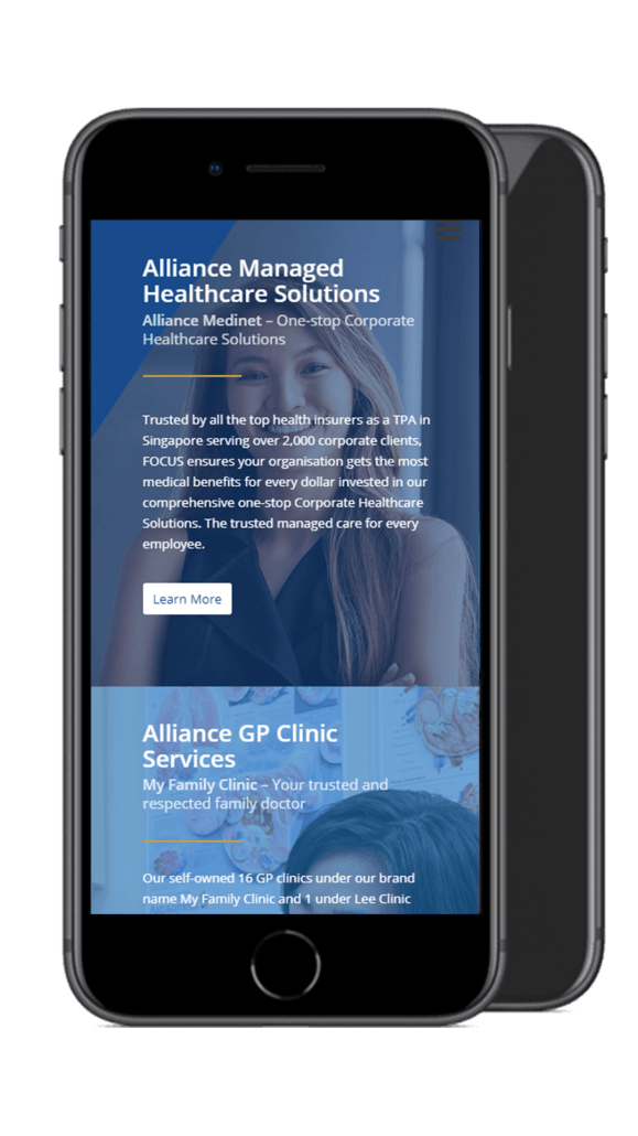 Alliance healthcare mobile screenshot 2