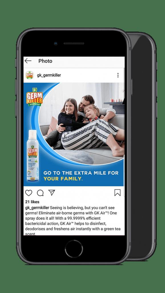 Germkiller mobile showcase 4