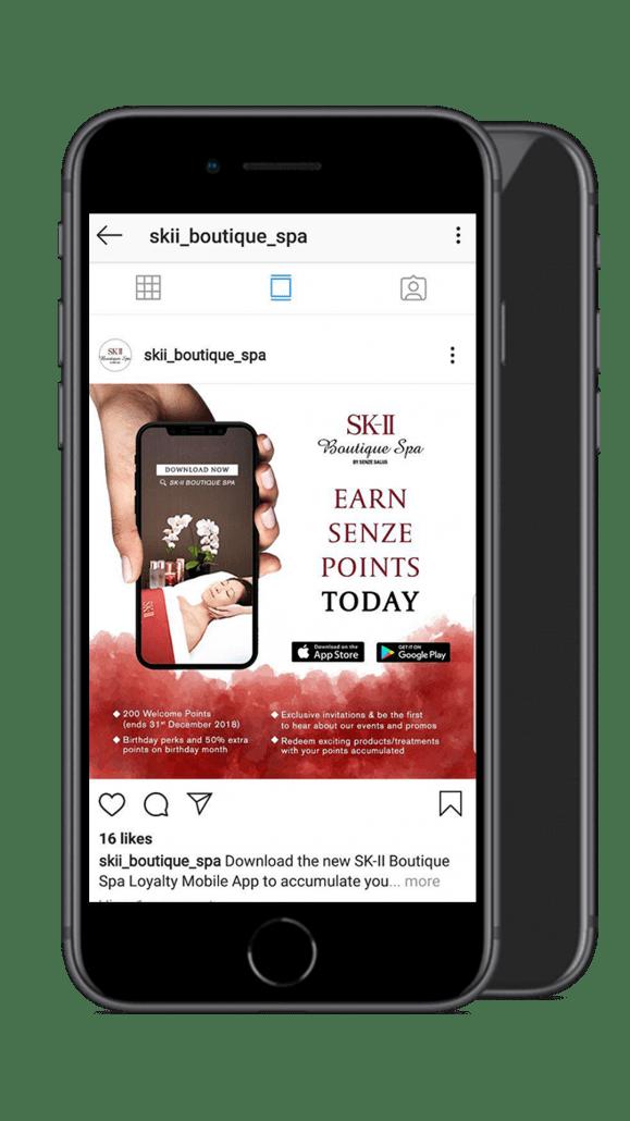 sk-ii boutique spa mobile screenshot 2