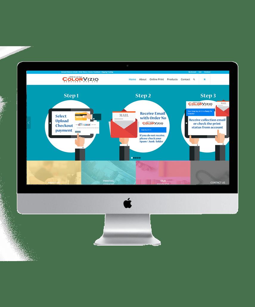 colorvizio website showcase 1