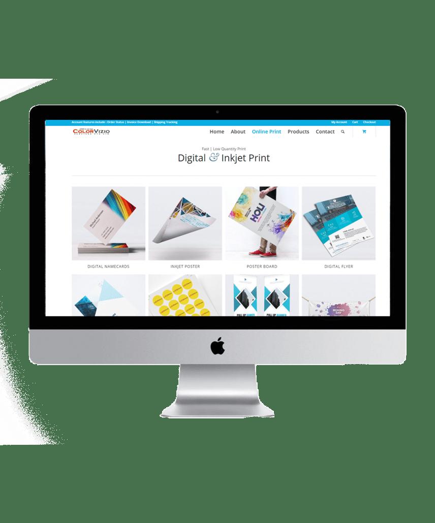 colorvizio website showcase 2