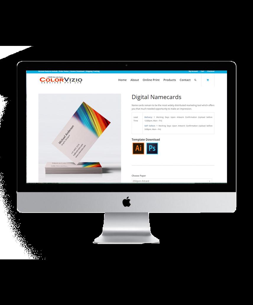 colorvizio website showcase 3